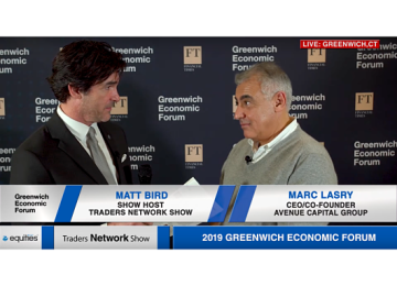 Marc Lasry CEO of Avenue Capital Group Interview with Matt Bird at Greenwich Economic Forum | Traders Network Show – Equities News