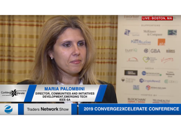 Maria Palombini Exclusive One-on-One Interview at 2019 Conv2x Conference | Traders Network Show – Equities News