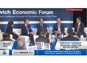 Laurel Fitzpatrick, Ken Kencel, Gregory Robbins, Craig Packer, and Mark Liggitt Discuss Private Credit at Greenwich Economic Forum | Traders Network Show – Equities News
