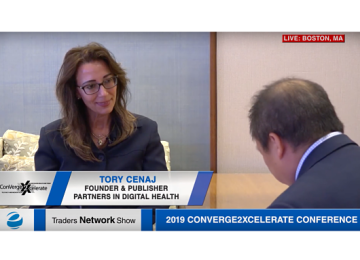 Tory Cenaj Exclusive One-on-One Interview at 2019 Conv2x Conference | Traders Network Show – Equities News