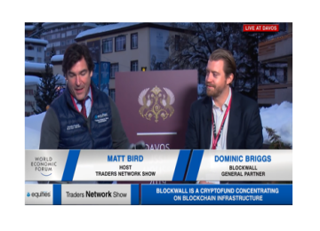 Dominic Briggs interview with Host Matt Bird at DAVOS2019 | Traders Network Show - World Economic Forum