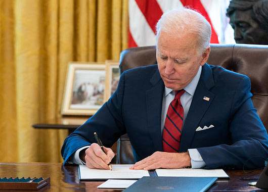President Biden To Sign Executive Order Wednesday Addressing Global Semiconductor Chip Shortage