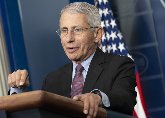 Dr. Anthony Fauci Says It's 'Liberating' To Be Supported by White House