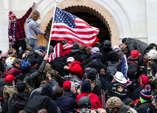 Capitol Rioters Included At Least 21 Current or Former Members of US Military or Law Enforcement