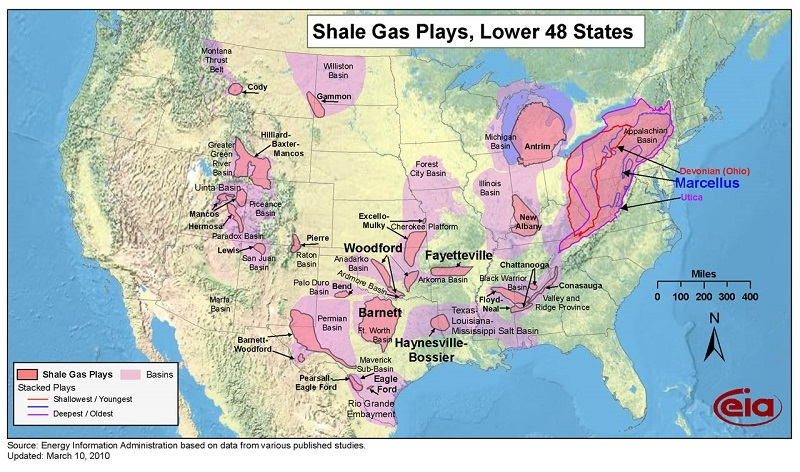 Getting To Know Your Crude American Shale Plays Equitiescom - Map of us shale plays