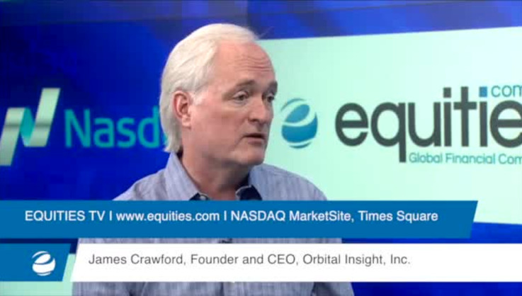 Using Satellite Imagery to Predict Market Success - Dr. James Crawford, CEO, Orbital Insight