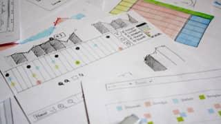 UI Scribbles des Quiri-Projekts von Ergosign
