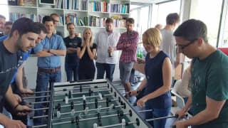 UX und UI Designer und Developer Kicker Match