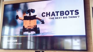 Chatbots - The next big thing?