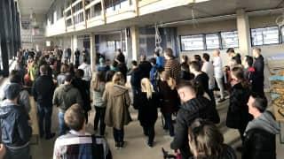 Richtfest im Forum des neuen Headquarters