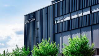 New building of Ergosign GmbH in the Eurobahnhof quarter, Saarbrücken