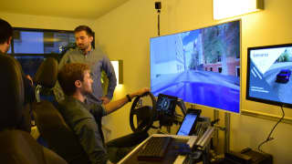 The driving Simulator of Project KoSi