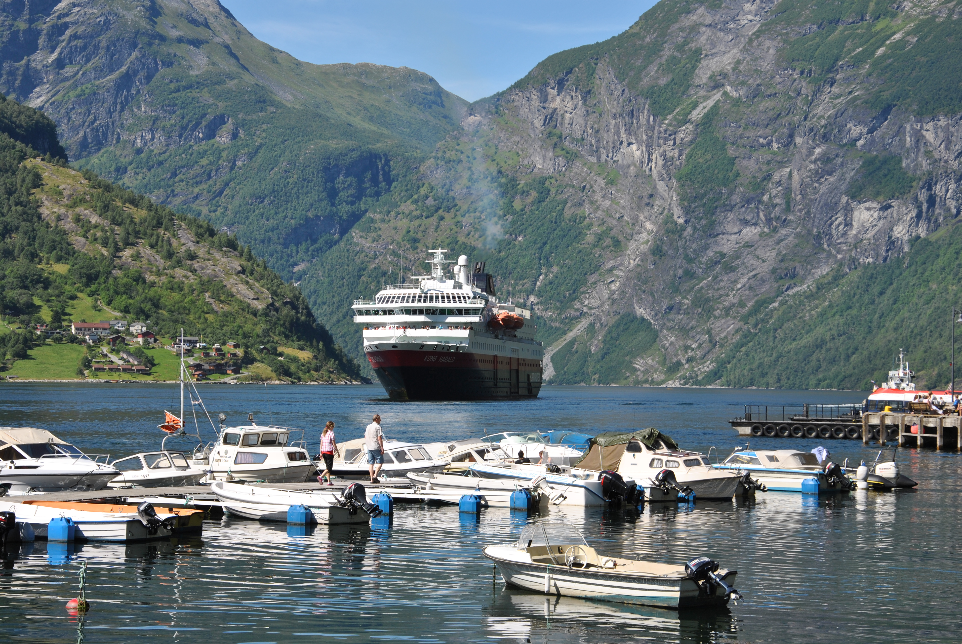 Norge med Hurtigruten