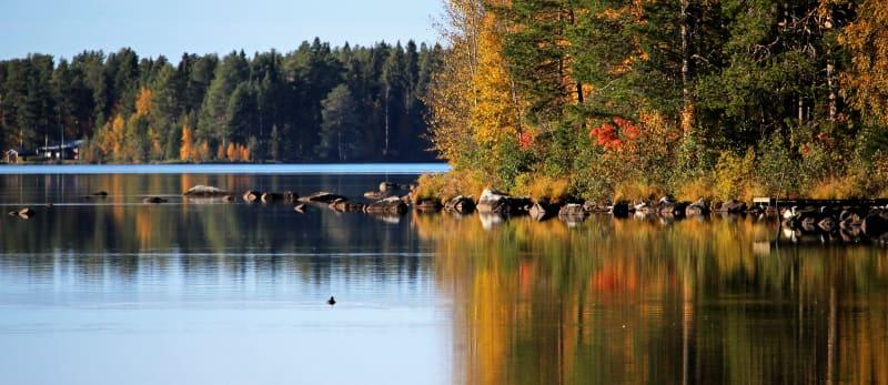 Norrland i Höstfärger