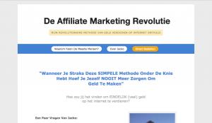 Geld Verdienen Met Affiliate Marketing?