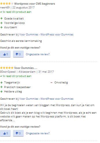 WordPress voor Dummie's ervaringen