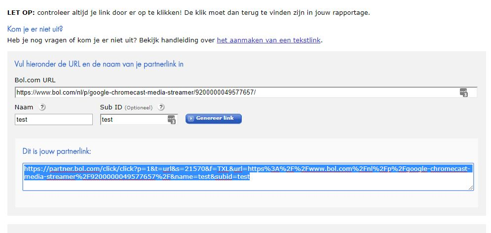 Wat Is Een Affiliate Link?