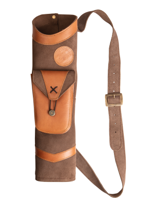 Bear Traditional Back Quiver - AT100BQ