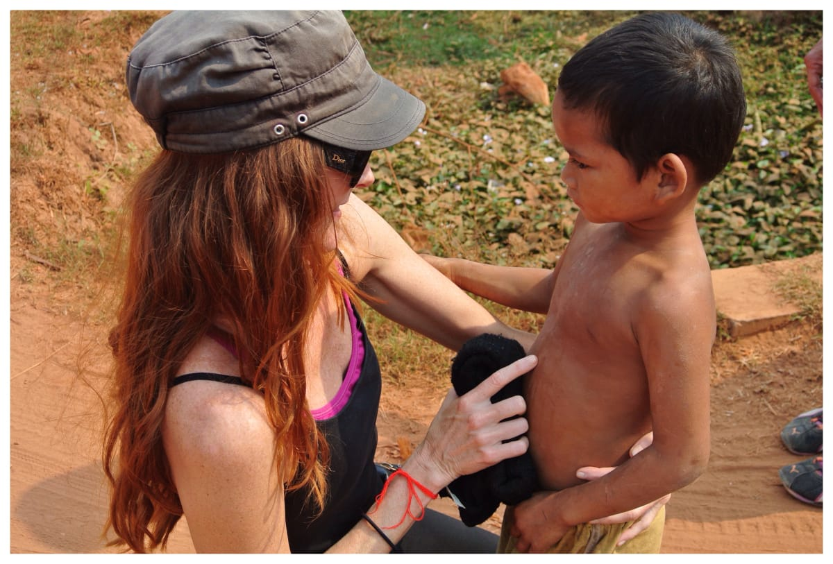 Escape To Shape Founder Erica Gragg, Giving Back In Cambodia