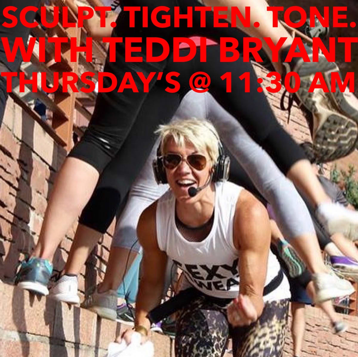 Sculpt. Tighten. Tone. w/ Teddi Bryant