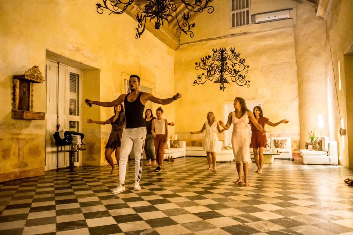 Salsa Dancing In Cartagena Colombia on Escape To Shape