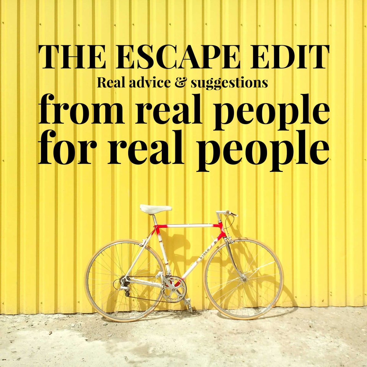 Introducing The Escape Edit
