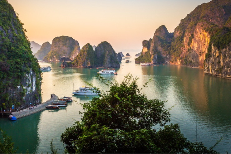 From Hanoi to Ho Chi Minh Hanoi, Halong Bay, Hoi An, Ho Chi Minh, Vietnam April 7th  - 16th, 2018