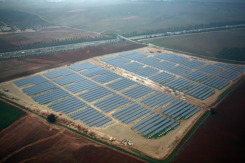 Fotografía planta solar