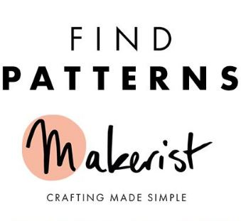 Find sewing patterns on Makerist