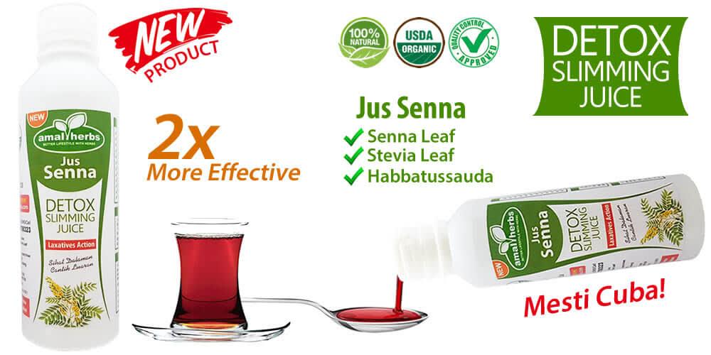 Jus Senna Detox Slimming Juice