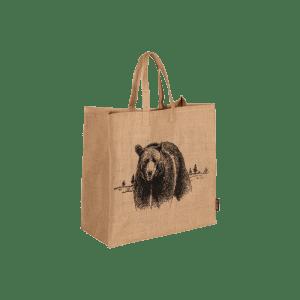 Bærebag i jute Bjørn