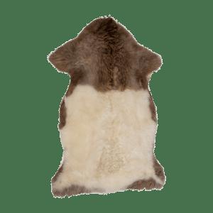 Brunbark fårskinn