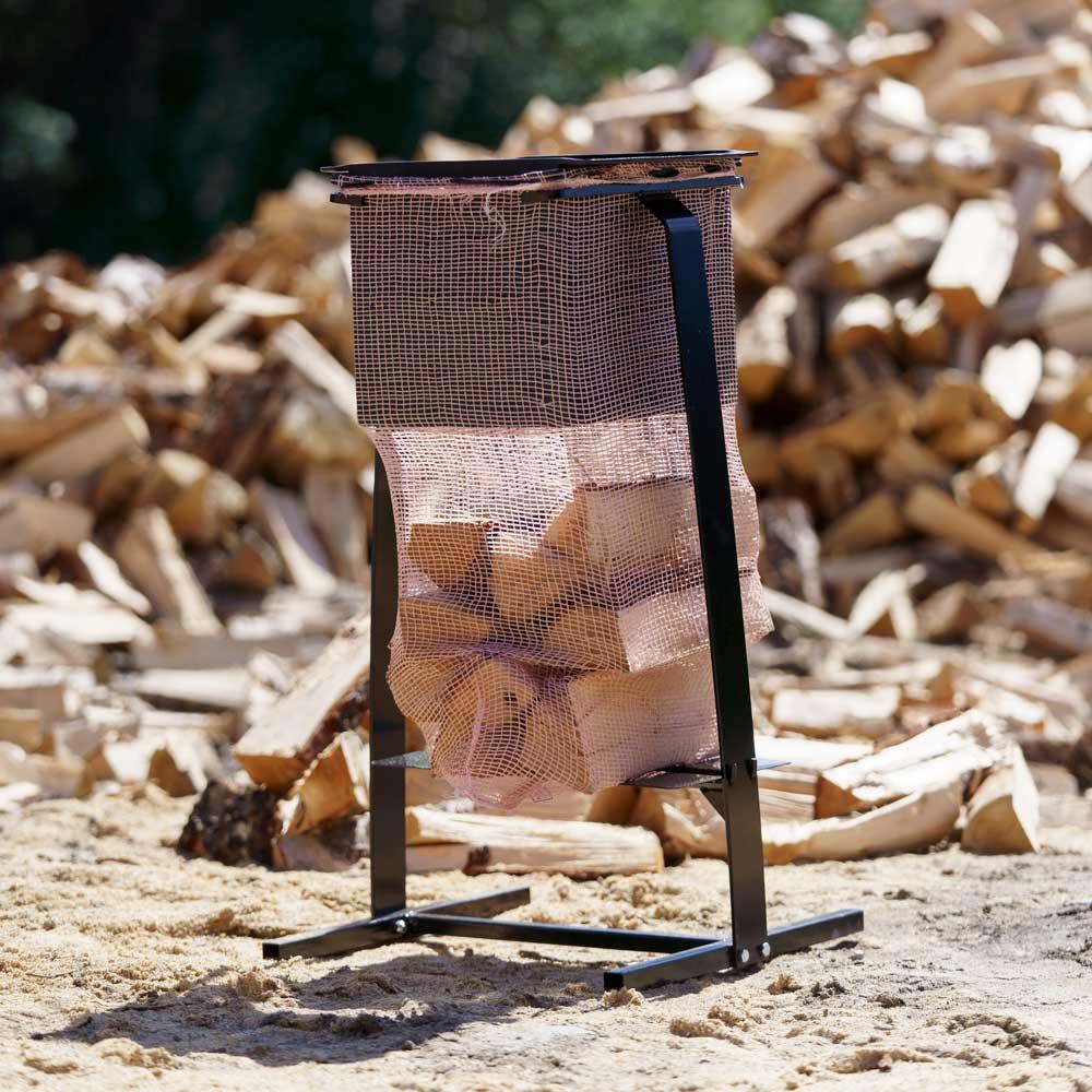 Med sekkestativ og pakkemodul blir pakkingen effektiv.