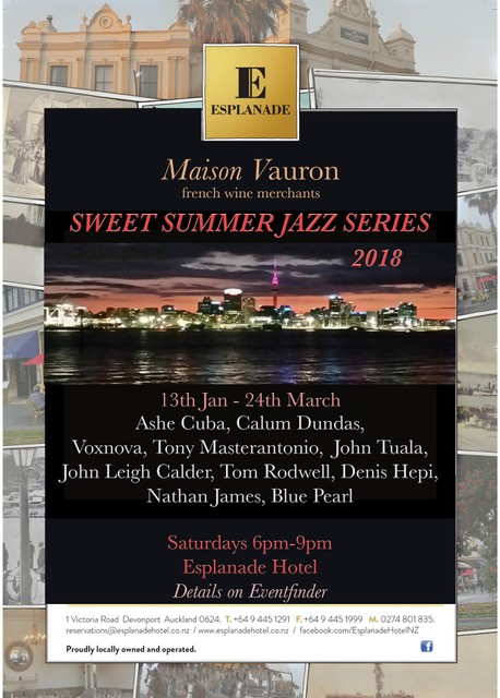 Events The Esplanade Hotel Summer Jazz