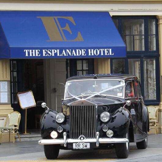 History of The Esplanade Hotel