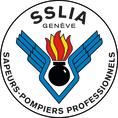 Badge du Service de sécurité et de lutte contre les incendies aéroportuaires de Genève Aéroport