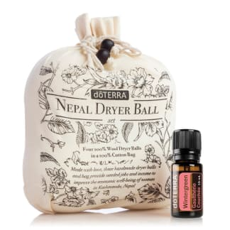 doTERRA Nepal Dryer Balls with Wintergreen
