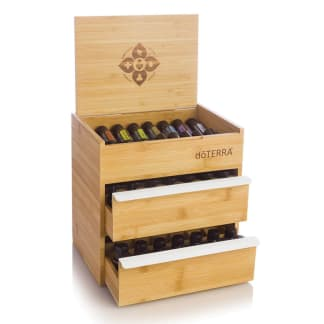 doTERRA Double Drawer Bamboo Box