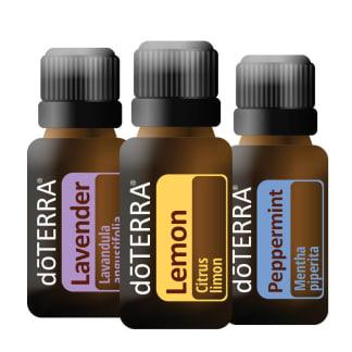 doTERRA Beginners Trio (Essential Oils Starter Kit)