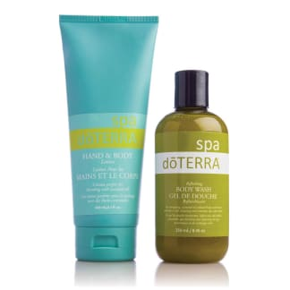 doTERRA SPA Basics Collection