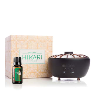 doTERRA Hikari Diffuser + Holiday Peace Essential Oil