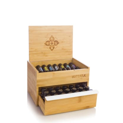doTERRA Single Drawer Bamboo Box