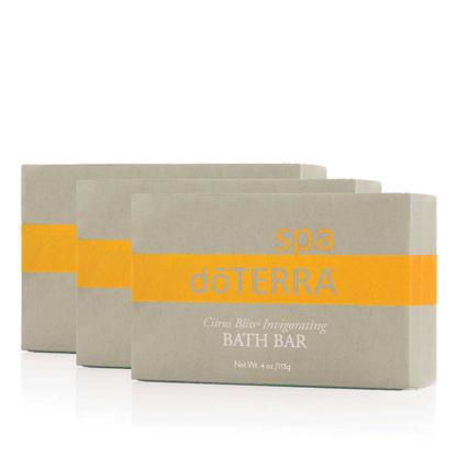 doTERRA Citrus Bliss Invigorating Bath Bar (3p)