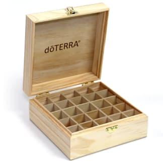 doTERRA wooden box essential oils storage