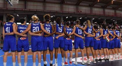 Foto nazionale femminile basket opt