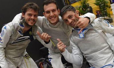 Italia fioretto maschile paralimpica amsterdam opt bgutw9