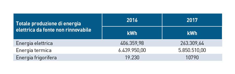 Energia elettrica non rinnovabile