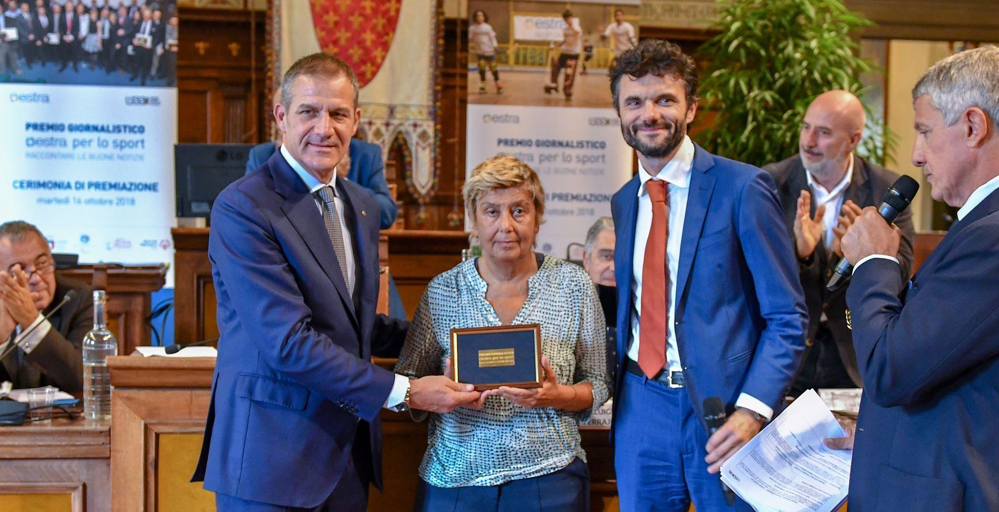 Audisio macri biffoni premio giornalistico 2017 2018