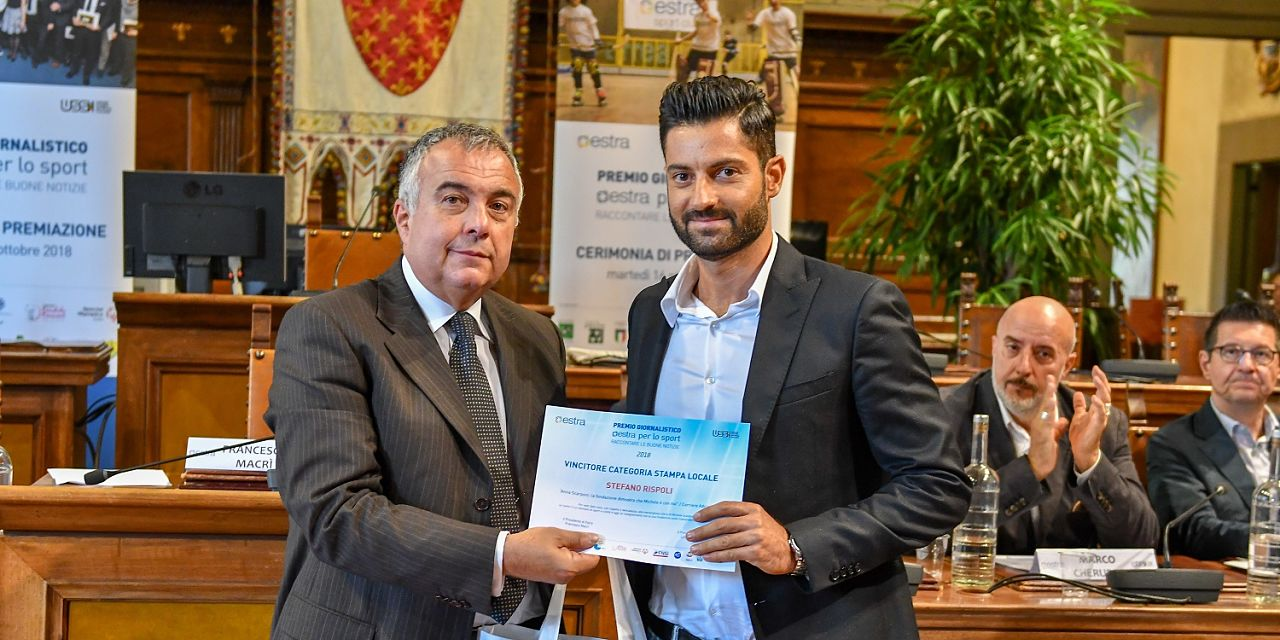 Stefano rispoli premio2018