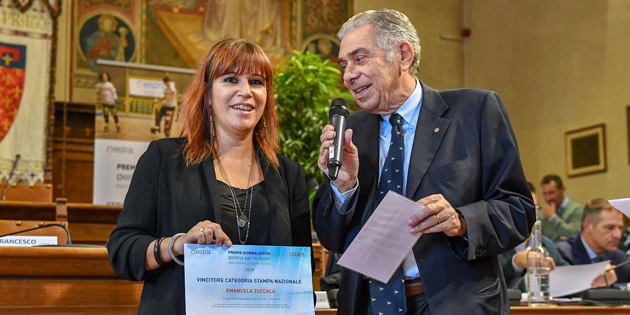 Emanuela zuccala premio2018